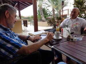 3 g,intermezzo,gesprek vz.SKS met projectvoorsteller uit Aruba,2-11