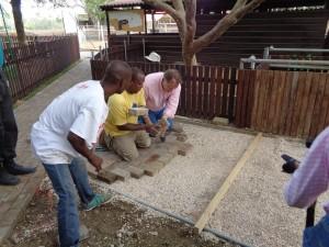 5 f,project dierentuin,aanleg bestrating,4-11