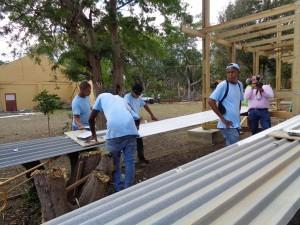 5 g project,schilderen van dakpanelen,4-11