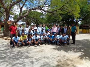 5 h ,delegatie met projectwerkers en leerlingen in de dierentuin,4-11